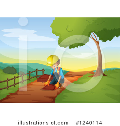 Trail Clipart #1240114 by Graphics RF