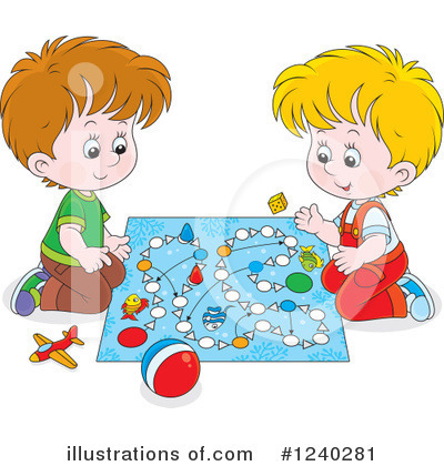 Board Game Clipart #1240281 by Alex Bannykh