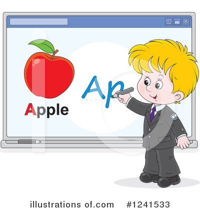 School Children Clipart #1241533 by Alex Bannykh