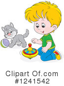 Royalty-Free (RF) Boy Clipart Illustration #1241542