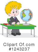 Boy Clipart #1243237 by Alex Bannykh