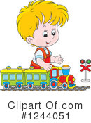 Royalty-Free (RF) Boy Clipart Illustration #1244051