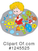 Royalty-Free (RF) boy Clipart Illustration #1245525