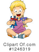 Royalty-Free (RF) Boy Clipart Illustration #1246319