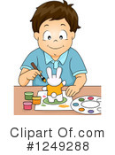 Royalty-Free (RF) Boy Clipart Illustration #1249288