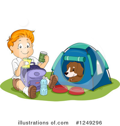 Tent Clipart #1249296 by BNP Design Studio