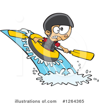 Raft Clipart #1264365 by toonaday