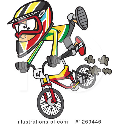 Bicycle Clipart #1269446 by toonaday