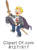 Royalty-Free (RF) Boy Clipart Illustration #1271817
