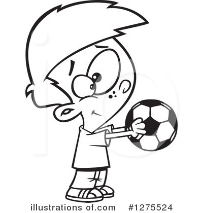 Soccer Clipart #1275524 by toonaday