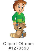 Boy Clipart #1279690 by visekart