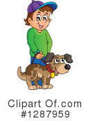 Royalty-Free (RF) Boy Clipart Illustration #1287959