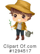 Royalty-Free (RF) Boy Clipart Illustration #1294517
