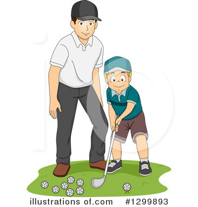 Golfing Clipart #1299893 by BNP Design Studio