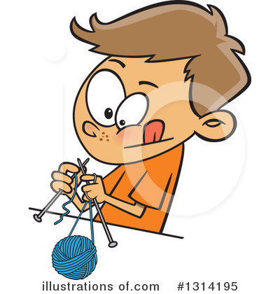 Knitting Clipart #1314195 by toonaday