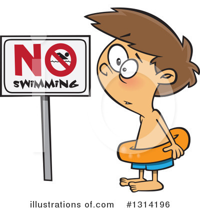 Swimming Clipart #1314196 by toonaday