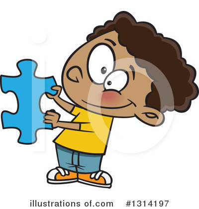 Puzzle Piece Clipart #1314197 by toonaday
