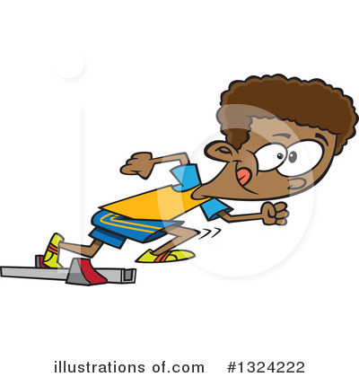 Track And Field Clipart #1324222 by toonaday