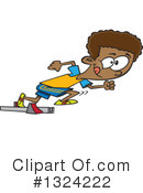 Royalty-Free (RF) Boy Clipart Illustration #1324222