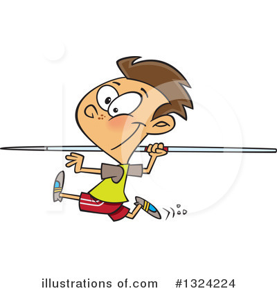 Track And Field Clipart #1324224 by toonaday