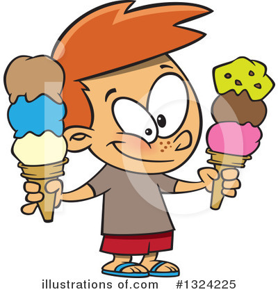 Ice Cream Clipart #1324225 by toonaday