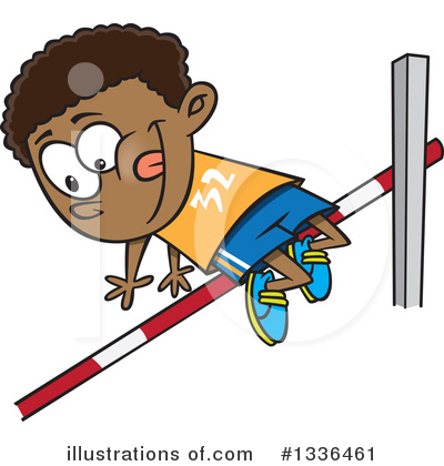 Track And Field Clipart #1336461 by toonaday