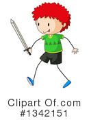 Royalty-Free (RF) Boy Clipart Illustration #1342151