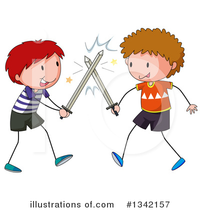 Fencing Clipart #1342157 by Graphics RF