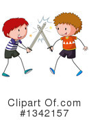 Royalty-Free (RF) Boy Clipart Illustration #1342157