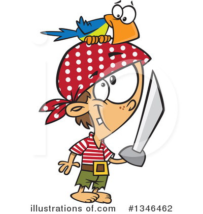Pirate Clipart #1346462 by toonaday