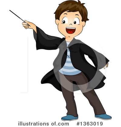 Wizard Clipart #1363019 by BNP Design Studio