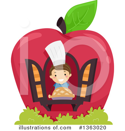 Chef Clipart #1363020 by BNP Design Studio
