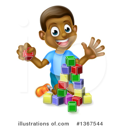 Children Clipart #1367544 by AtStockIllustration