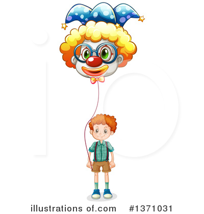Clown Clipart #1371031 by Graphics RF