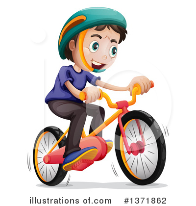 Bicycle Clipart #1371862 by Graphics RF