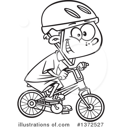 Bicycle Clipart #1372527 by toonaday