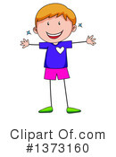 Boy Clipart #1373160 by Graphics RF