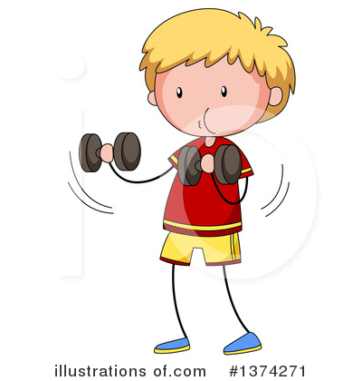 Royalty-Free (RF) Boy Clipart Illustration by Graphics RF - Stock Sample #1374271