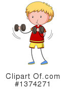 Boy Clipart #1374271 by Graphics RF