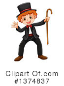 Boy Clipart #1374837 by Graphics RF