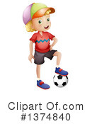 Boy Clipart #1374840 by Graphics RF