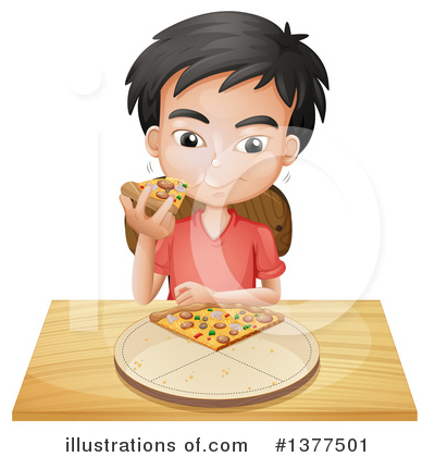Pizza Clipart #1377501 by Graphics RF