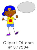 Boy Clipart #1377504 by Graphics RF