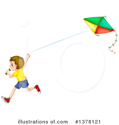 Kite Clipart #1378121 by Graphics RF