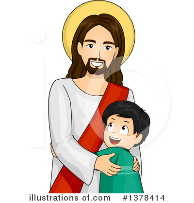 Jesus Clipart #1378414 by BNP Design Studio
