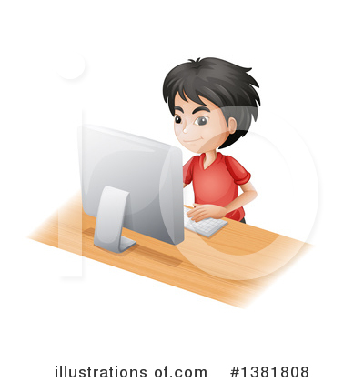 Computer Clipart #1381808 by Graphics RF