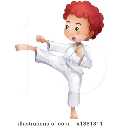 Karate Clipart #1381811 by Graphics RF