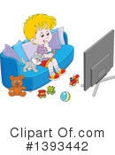 Royalty-Free (RF) Boy Clipart Illustration #1393442