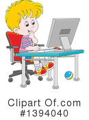 Royalty-Free (RF) Boy Clipart Illustration #1394040