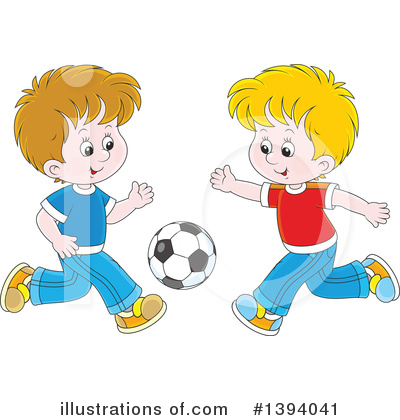 Boy Clipart #1394041 by Alex Bannykh